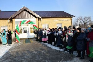 В Нурлатском районе открылся многофункциональный центр с библиотекой и ФАПом