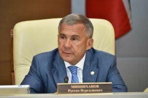 Минниханов дал ряд поручений после убийства женщины с двумя детьми в Менделеевске