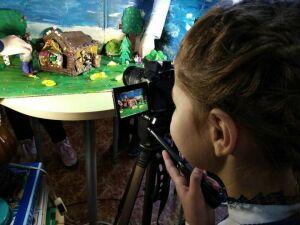 Школьники Бугульмы сняли мультфильм про Теремок