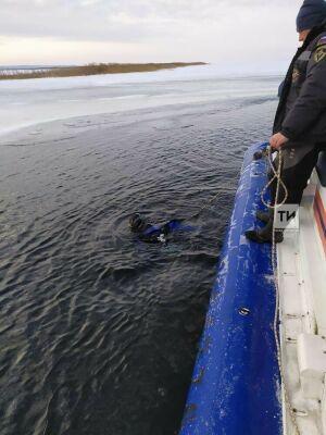 В Тукаевском районе четвертый день идут поиски рыбака, пропавшего у деревни Биюрган