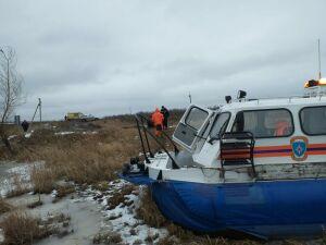 Провалившихся под лед рыбаков спасли в Алексеевском районе Татарстана