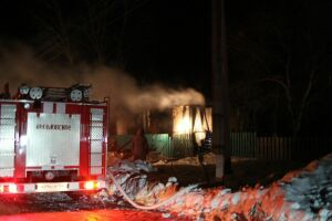 В Новосибирской области в сгоревшем доме погибли мать и четверо детей