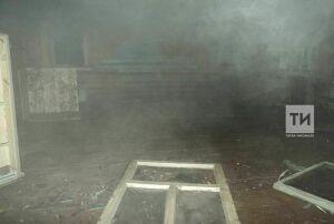 В Казани мужчина заснул с сигаретой и сгорел вместе с домом