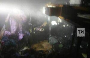 Неосторожность при курении стала причиной пожара в кукморской пятиэтажке, в котором погиб мужчина