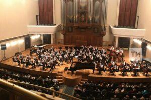 На концерт Молодежного симфонического оркестра РТ собралось 900 зрителей