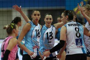 Волейболистки «Динамо-Казани» упрочили третье место в турнирной таблице чемпионата России