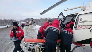 В Свердловской области в ДТП с «ГАЗелью» с номерами Татарстана один человек погиб, восемь пострадали