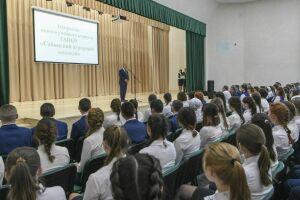 Рустам Минниханов принял участие в открытии нового здания Сабинского аграрного колледжа