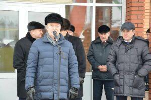 Рустам Нигматуллин посетил новый корпус Черемшанской кадетской школы-интернат