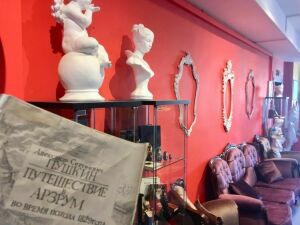 На открытии Музея Пушкина в Анталии казанский Музей соцбыта представил выставку «Пушкин наш»