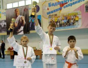 Спасские каратисты завоевали призовые места на первенстве Татарстана