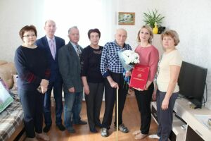 Ветеран войны из Лаишевского района отпраздновал 95-летний юбилей