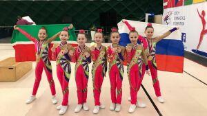 Казанские спортсменки завоевали 14 золотых медалей на турнире по аэробике в Праге