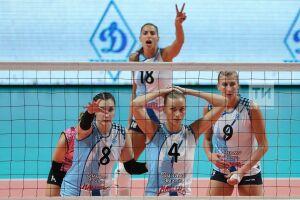 Аутсайдер дал бой одному из лидеров: волейболистки «Динамо-Казани» с трудом добились гостевой победы