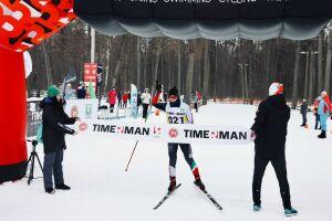 На лыжный марафон в Зеленодольске вышли 500 бегунов со всей России