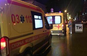 Серьезную травму головы получил малыш, которого завалило снегом в центре Казани