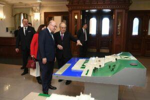 Минтимер Шаймиев пригласил нового посла Турции в РФ посетить Болгар и Свияжск