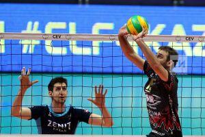 Волейболисты «Зенита-Казани» сыграют против «Перуджи» вполуфинале Лиги Чемпионов