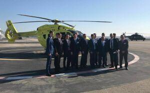 Рустам Минниханов посетил компанию Airbus Helicopters в Марселе