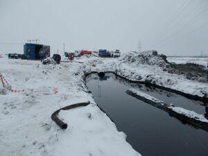Из-за прорыва магистрального нефтепровода в РТ оказалось загрязнено 700 квадратных метров земли