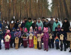 Юные буинцы к Международному Дню леса создали «Птичий квартал»
