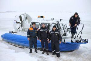 В Алексеевском районе новое спасательное судно «Хивус 6» начало патрулирование береговой зоны