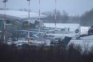 Из-за непогоды в казанском аэропорту задержаны три рейса