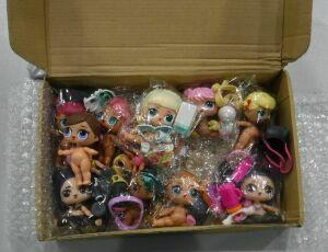 Казанские таможенники нашли в посылках из Китая «пиратские» куклы L.O.L