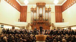 ГСО РТиобладатель «Грэмми» Ильдар Абдразаков выступили сконцертом «Верди-гала» вКазани