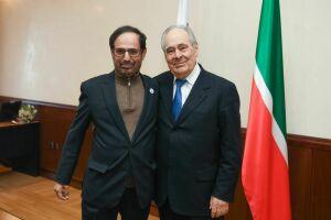 Минтимер Шаймиев встретился с председателем Всемирного совета мусульманских сообществ