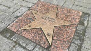 В Казани вернули на место звезду славы Хании Фархи