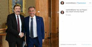 Рустам Минниханов 1 апреля назначил «Чак-чака» Норриса министром спорта Татарстана