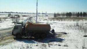 Фотокапкан трижды зафиксировал факт слива сточных вод в Альметьевском районе