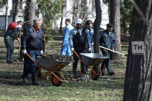 В исполкоме на весеннюю очистку Казани ждут около 200 тыс. горожан