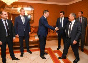 Минниханов обсудил с представителями «Первого канала» и ВГТРК проведение детского фестиваля в Казани