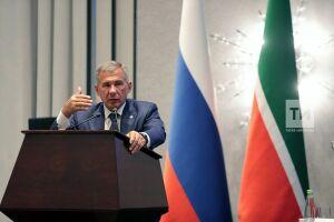 Минниханов примет участие в заседании президиума Совета при Президенте РФ по нацпроектам