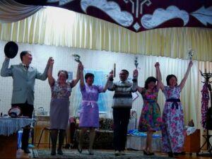Музыкальную мистерию «Четыре невесты сантехника Струева» представили тетюшские сельчане