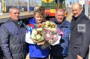 ВКазань вернулась серебряный призер чемпионата Европы поборьбе Светлана Липатова