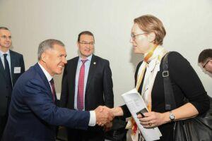 Президент РТ и замминистра иностранных дел Дании обсудили перспективные направления сотрудничества