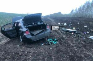 Пожилой мужчина погиб в вылетевшей в кювет иномарке в Ютазинском районе Татарстана