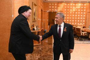 Вилле Хаапасало предложил Минниханову снять цикл программ о Татарстане
