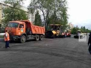 В Автограде третий этап капремонта на улице Шамиля Усманова планируют завершить в конце июля