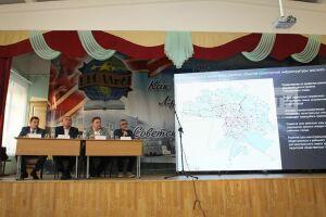 ВДербышках навстрече с населением обсудили три варианта развития дорожной сети поселка