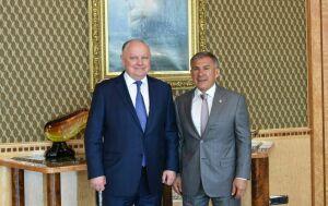 Минниханов обсудил с главой «Рособоронэкспорта» модернизацию военных заводов Татарстана