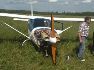 В Башкирии экстренно сел самолет, возвращавшийся из Казани с соревнований Red Bull Air Race