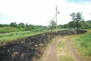 Пожарные сняли с электропроводов обгоревшее тело жителя Заинска