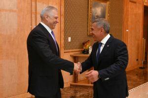 Президент Татарстана встретился с руководителем Россельхознадзора