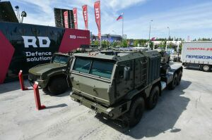 Компания изНабережных Челнов представила на«Армии-2019» танковоз имодифицированные броневики