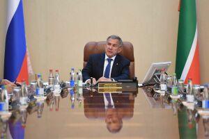 Переработка отходов иперегрев всетях: Президент РТпровел заседание «Татнефтехиминвеста»