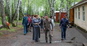 Республиканские власти проверили состояние детских оздоровительных лагерей Бугульминского района
